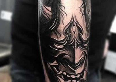 TDP Tattoos BloodGod Oni
