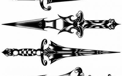 Knife Tattoo Meaning