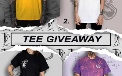 Tattoo Clothing Giveaway May 2019