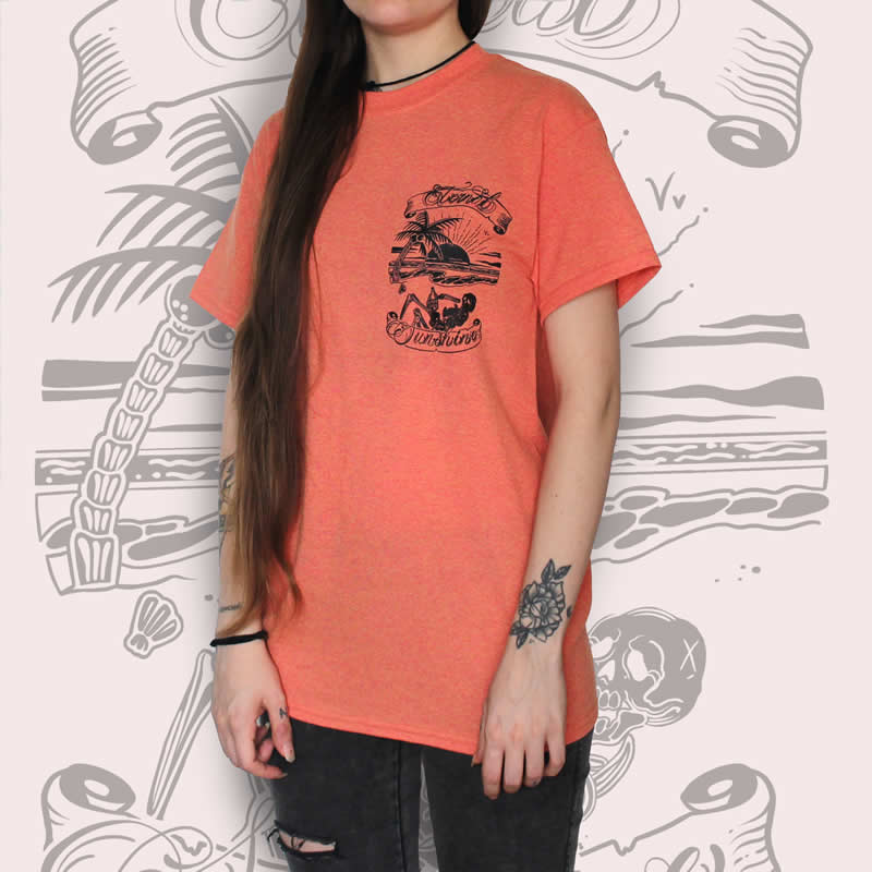 Eternal Sunshine Island T-Shirt Sunset