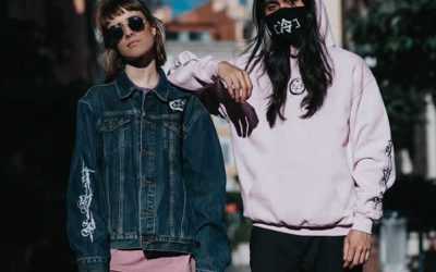 Rome Streetwear Clothing Photoshoot