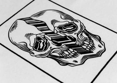 Distorted Skull Clothing Range