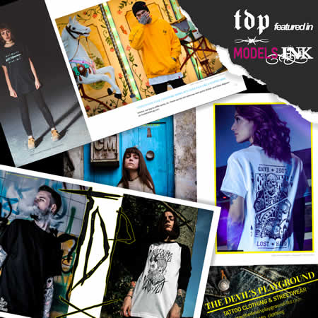 TDP in ModelsINK Tattoo Magazine