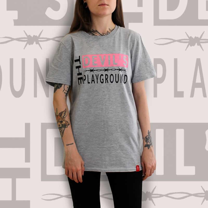 The Devils Playground Grey T-Shirt