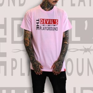 The Devils Playground Pink T-Shirt