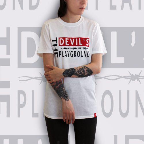 The Devils Playground White T-Shirt