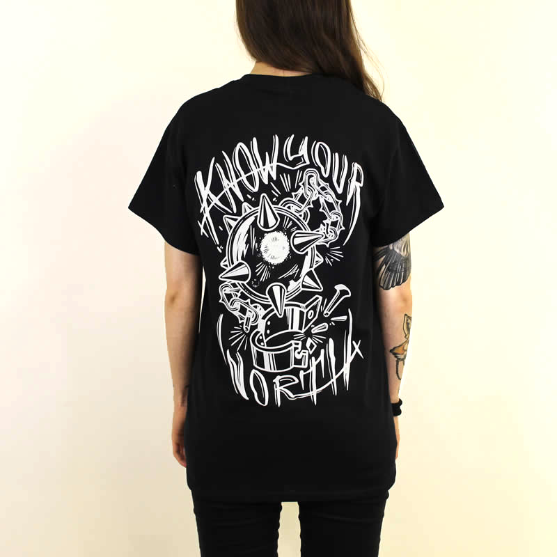 Flail Back Print T-Shirt