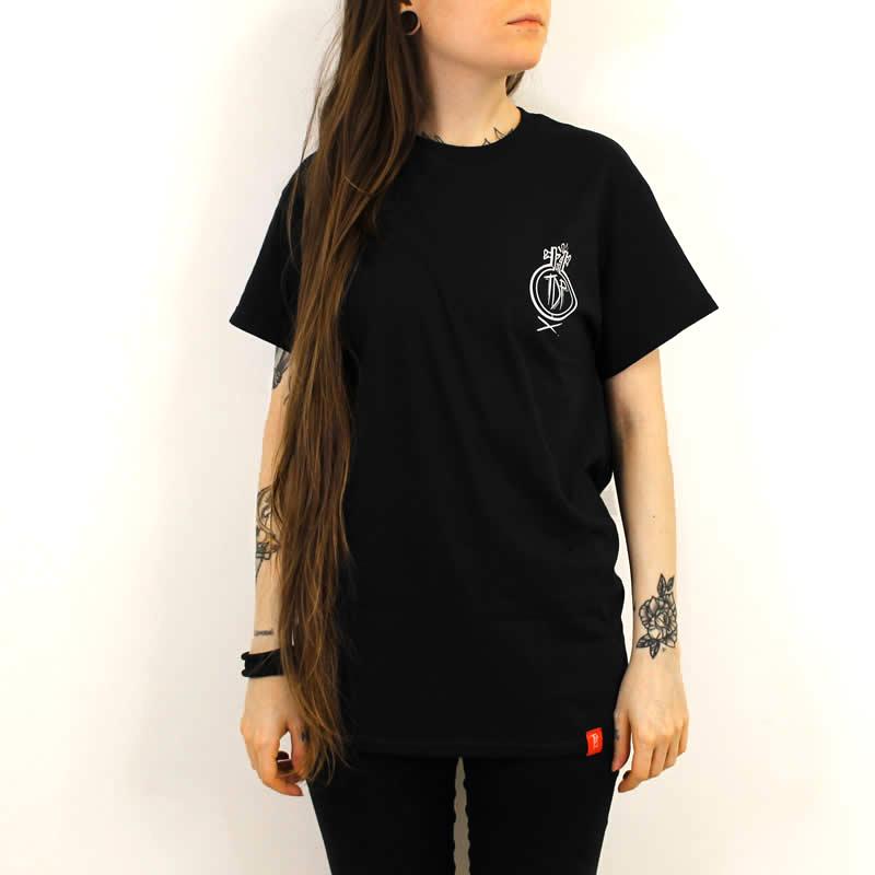 Flail Front Print T-Shirt