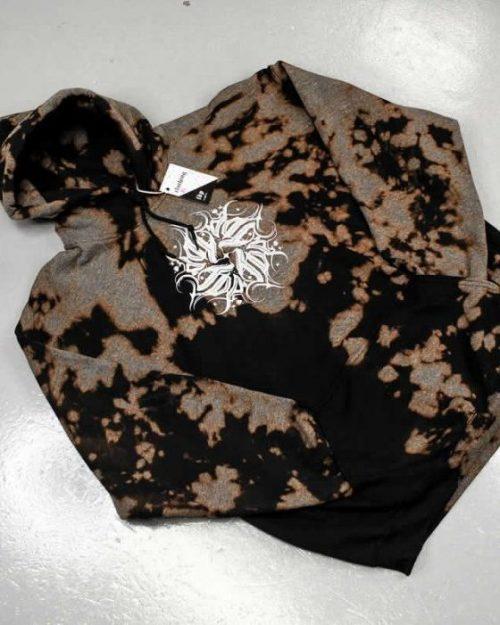 Dark Mandala Black Hoodie XLarge