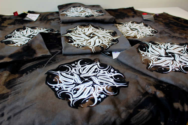 Dark Mandala Black T-Shirt Medium
