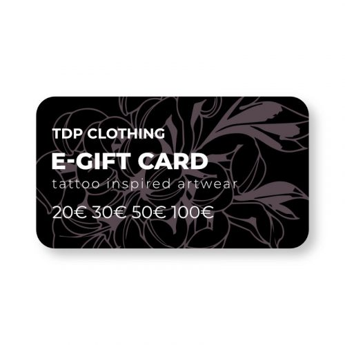 TDP Clothing e-Gift Card